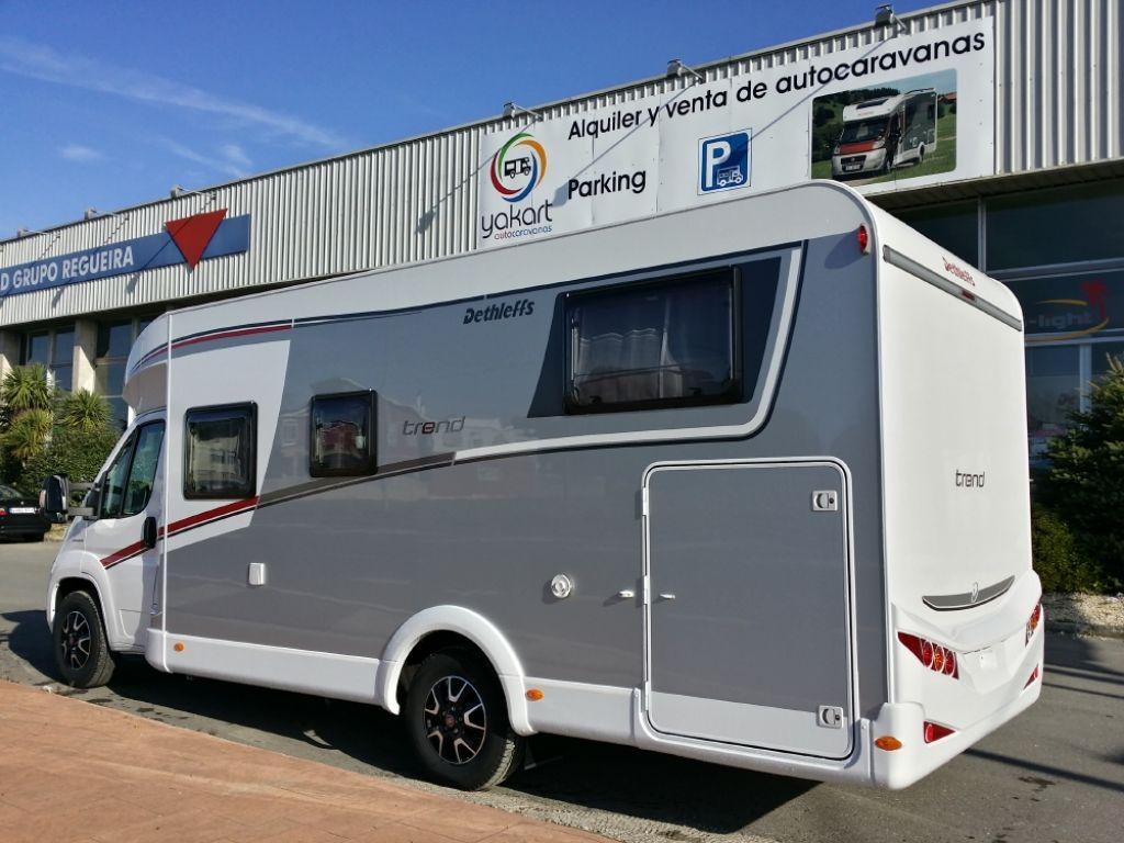 Autocaravana Perfilada DETHLEFFS T 7057 EB modelo 2017 Nueva en Venta ...